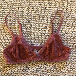 Victoria's Secret Underwire Lace Bralette